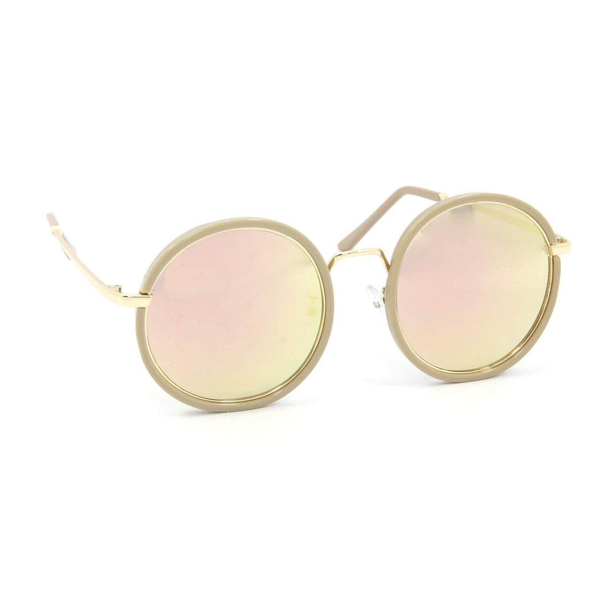1023fb27a85b8 Óculos de Sol Redondo Style Espelhado - Compre Agora   Zattini