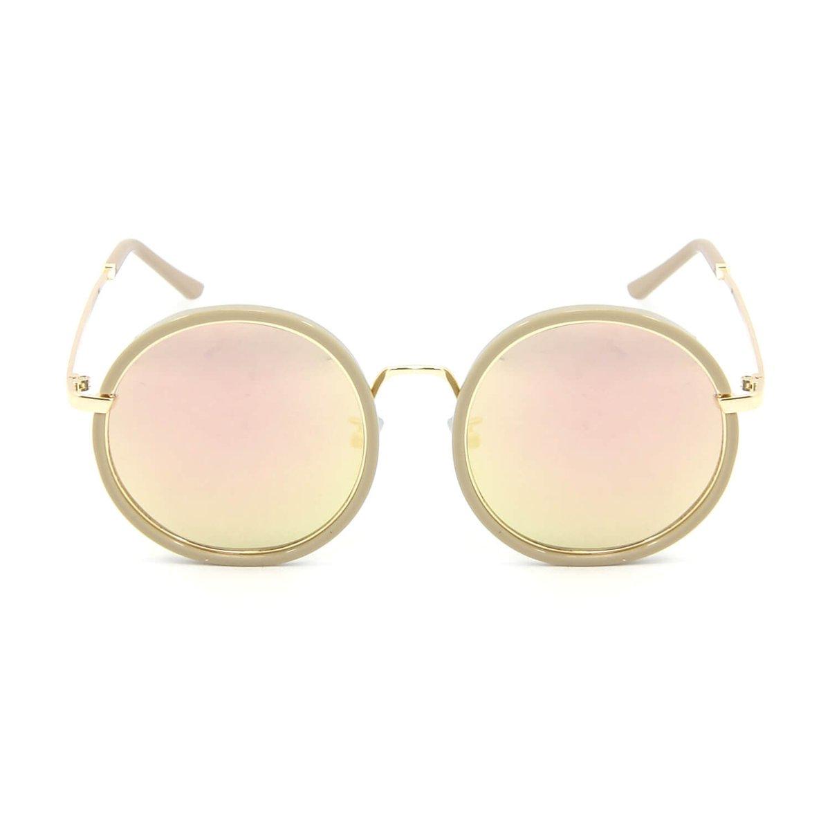 Óculos de Sol Redondo Style Espelhado - Compre Agora   Zattini 839de14eba