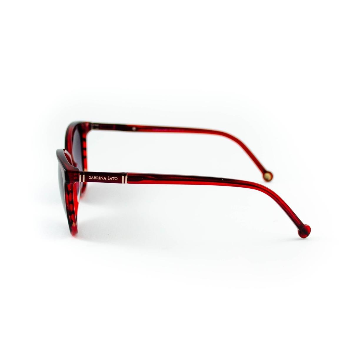 Óculos De Sol Sabrina Sato Feminino - Vinho nrNB0zXV