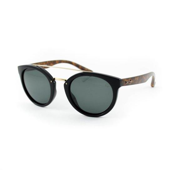Óculos de Sol Secret  Queens Polarizado - Preto+Marrom