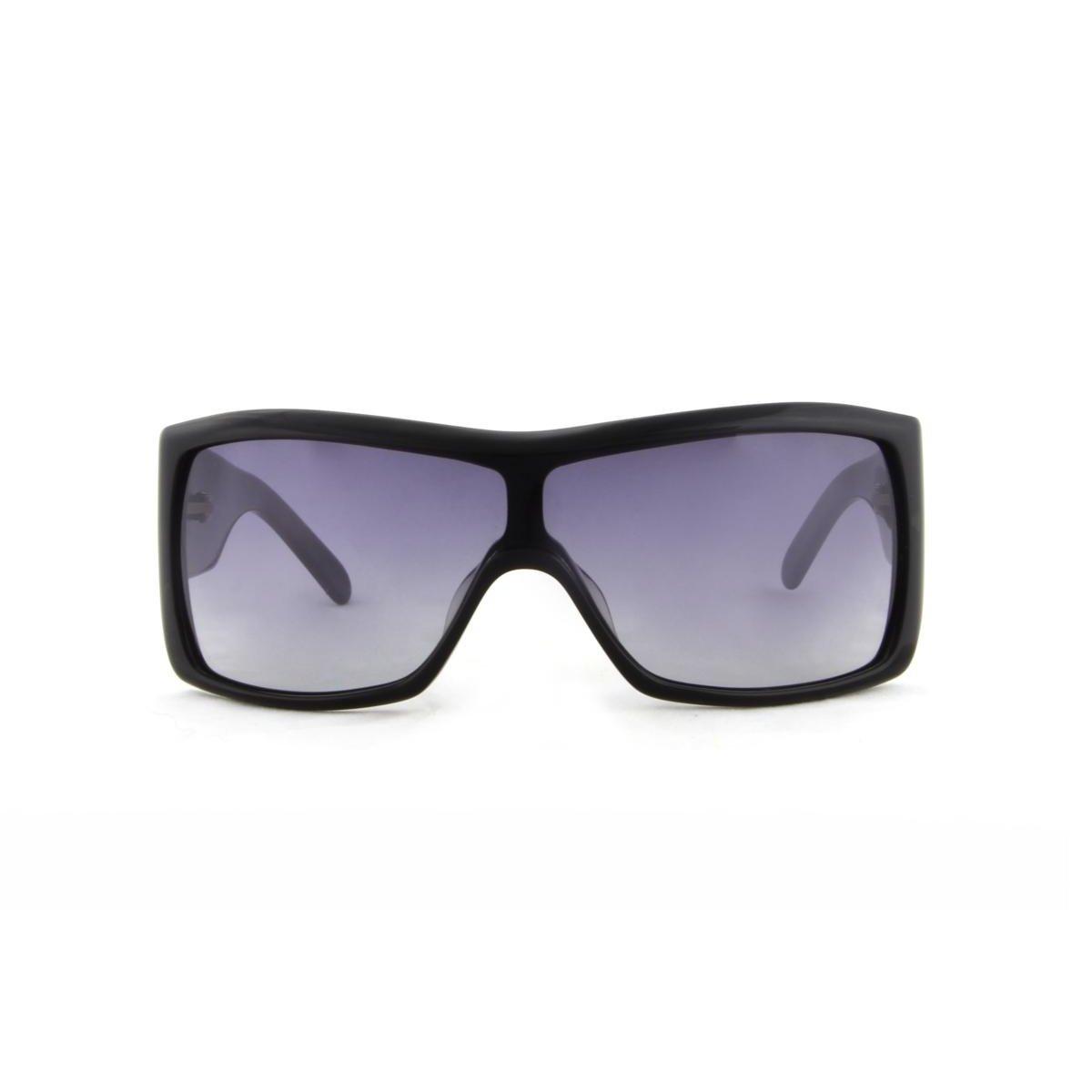 58290bf4bdda5 Óculos de Sol Spellbound Acetato Lente Degradê - Preto - Compre ...