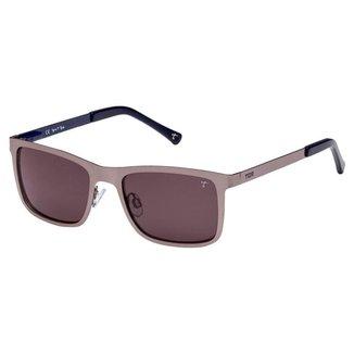 Óculos de Sol Tigor T Tigre STT070 C03/49 Cinza/Azul
