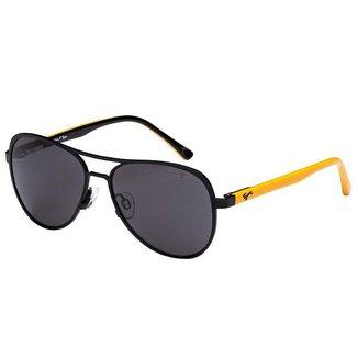Óculos de Sol Tigor T. Tigre STT090 C01/50 Preto/Amarelo