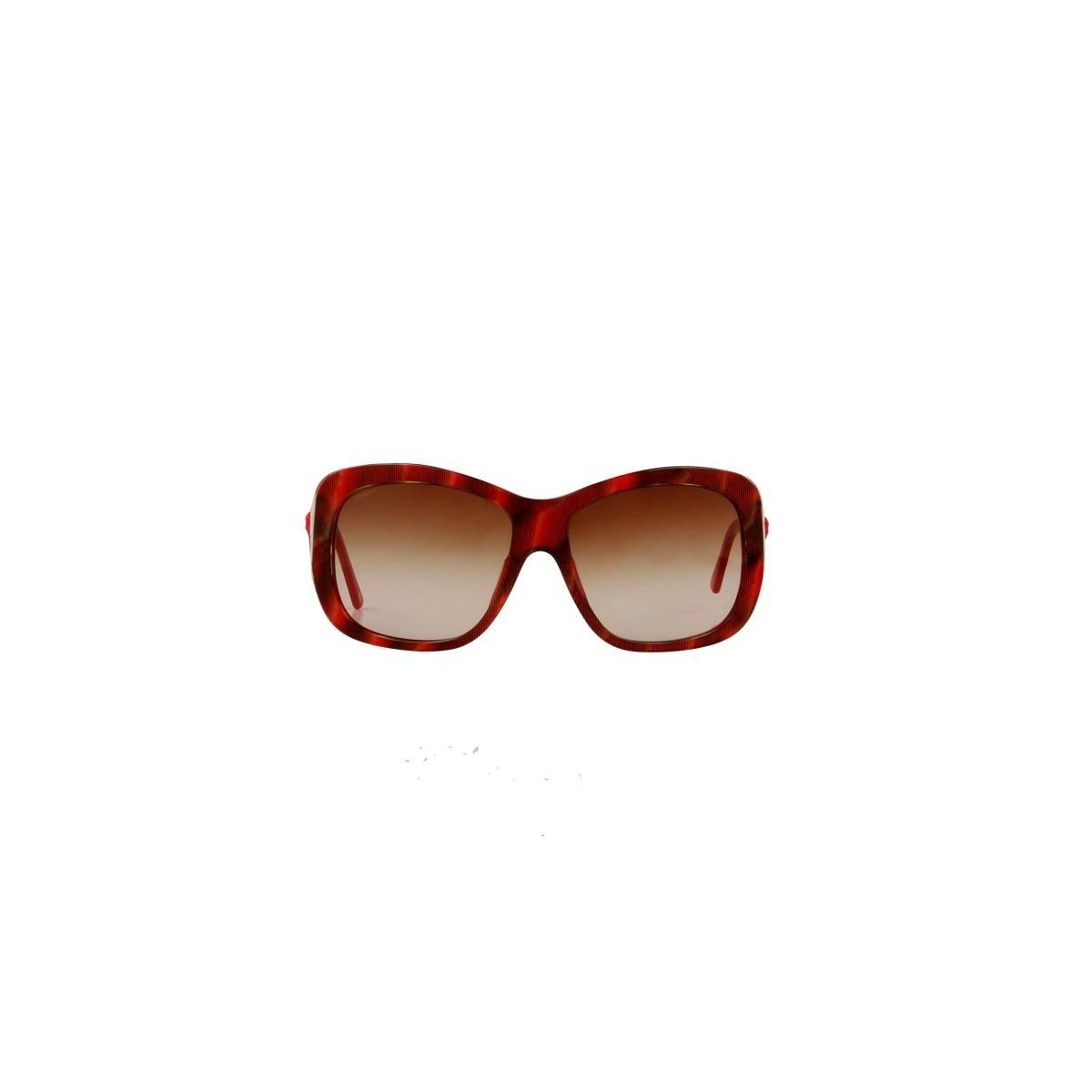 1e5cbfc1c3639 Óculos de Sol Versace 100% Proteção UV Astes Feminino - Vermelho ...