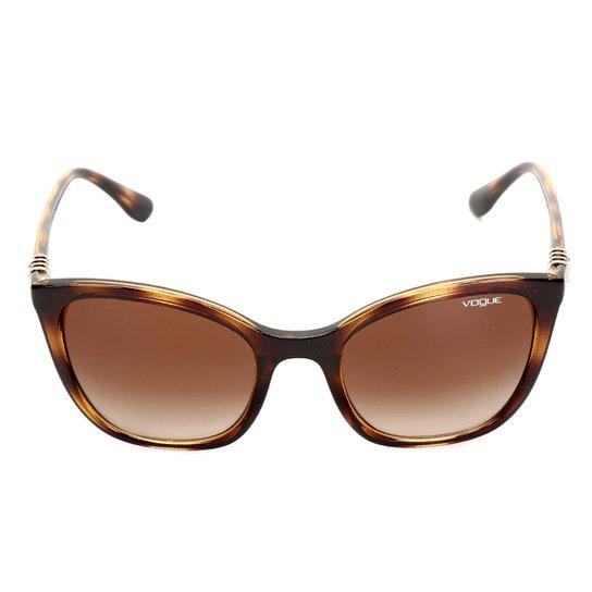 Óculos de Sol Vogue Drops - Marrom