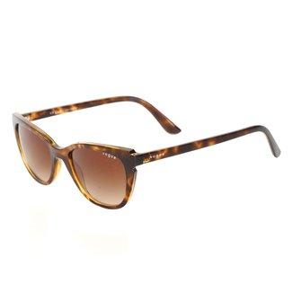 Óculos De Sol Vogue Metal Com Lentes De Plástico 0VO5293SLW6561353 Feminino