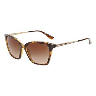 Óculos De Sol Vogue Metal Com Lentes De Plástico 0VO5333SLW6561354 Feminino