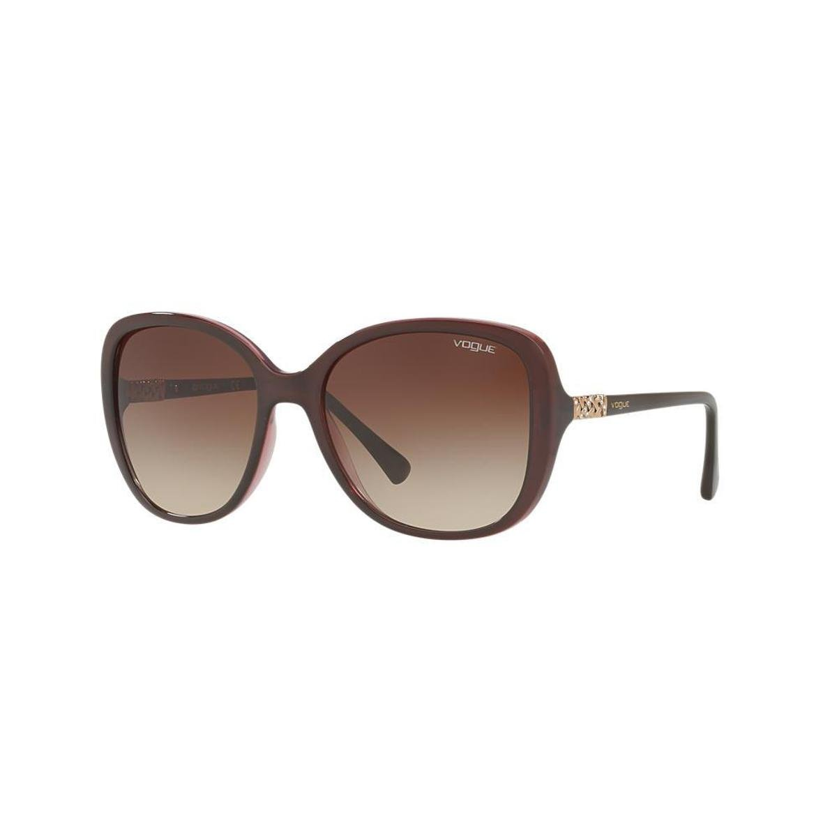 d34f855f4c6d3 Óculos de Sol Vogue Retangular VO5154SB Feminino - Compre Agora ...