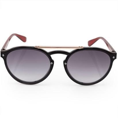 Óculos Euro Feminino Aviador Bicolor