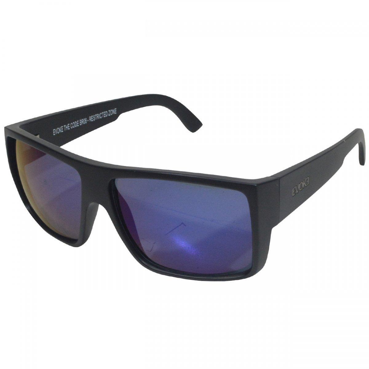 Óculos Evoke The Code Masculino - Preto e Azul - Compre Agora   Zattini a0a3499b3b