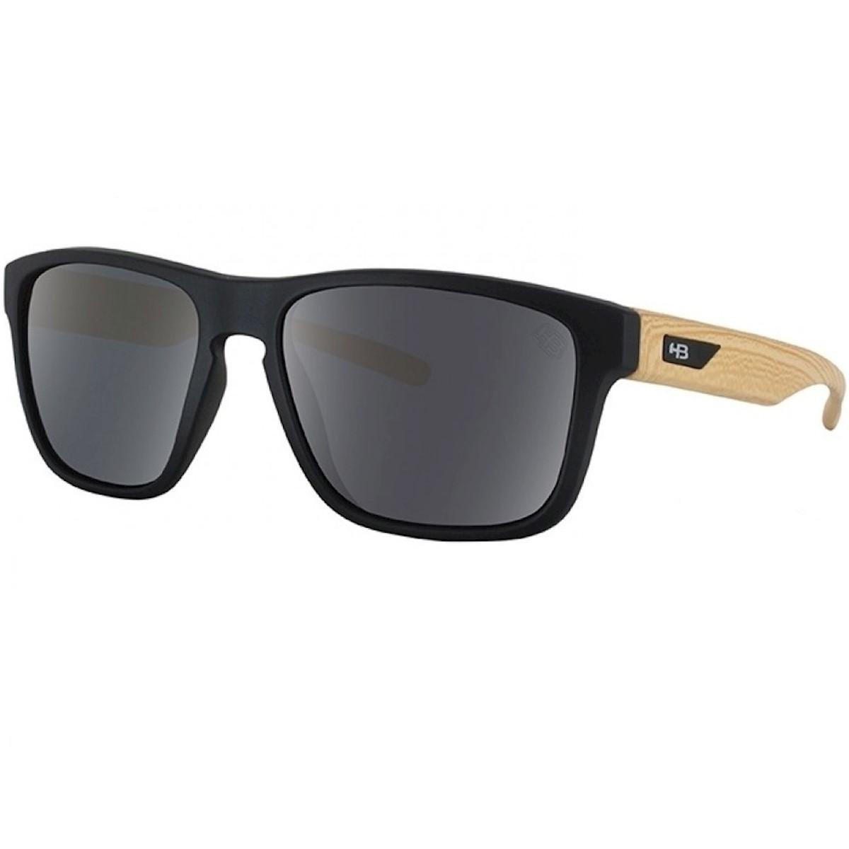 b64f0161d0d78 Óculos HB H-Bomb Matte Wood - Preto - Compre Agora   Zattini