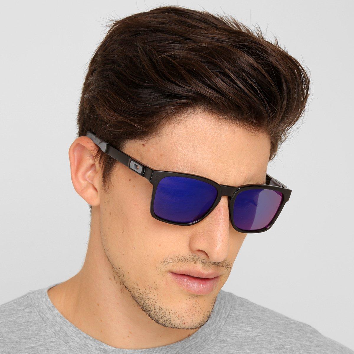 4e8a6f4d22649 Óculos Oakley Catalyst-Iridium - Preto e Roxo - Compre Agora   Zattini