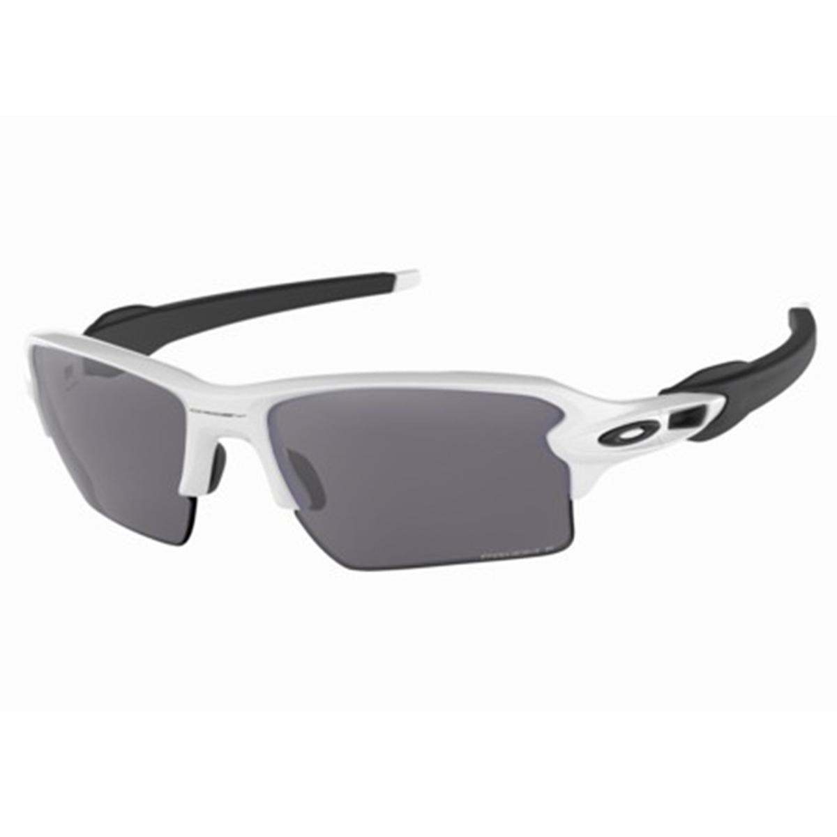 Óculos Oakley de Sol Flak 2.0 Xl Masculino - Branco - Compre Agora ... 26d0e6e47b407