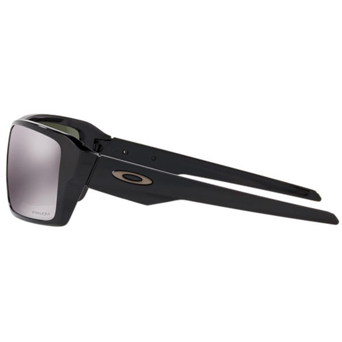827a4def6aeac ... Óculos Oakley Double Edge Polished Black   Lente Prizm Black Iridium ...