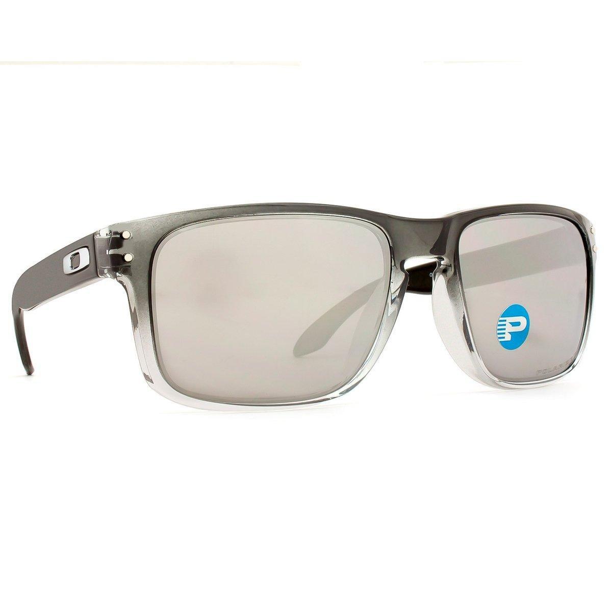 Óculos Oakley Holbrook Polarizado OO9102 A9 55 - Preto - Compre ... 19a511f917