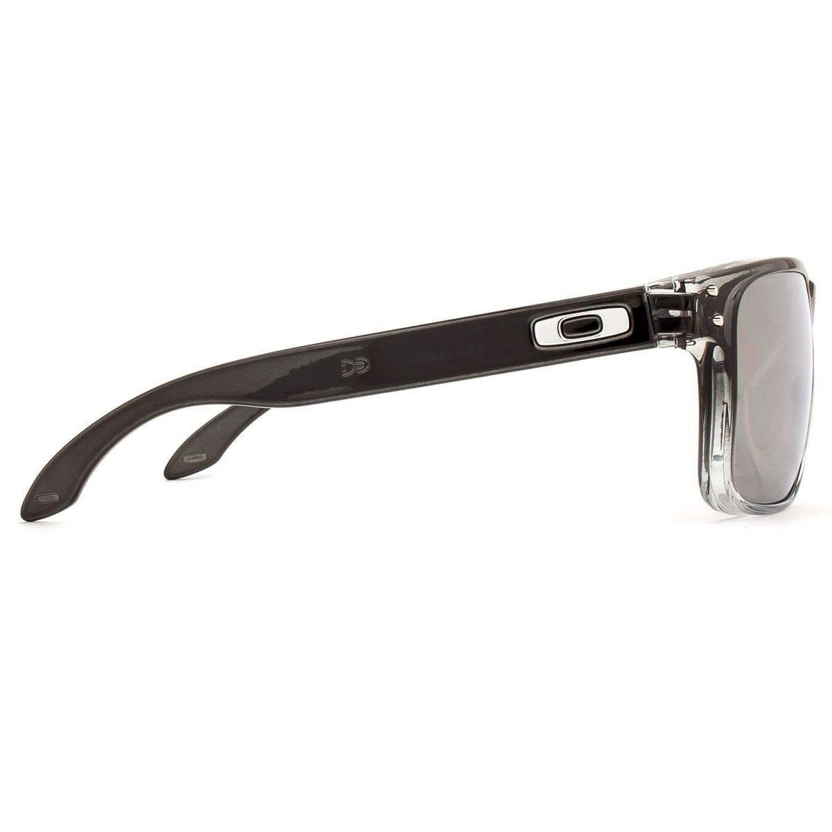 8ec59951c48fa Óculos Oakley Holbrook Polarizado OO9102 A9 55 - Preto - Compre ...