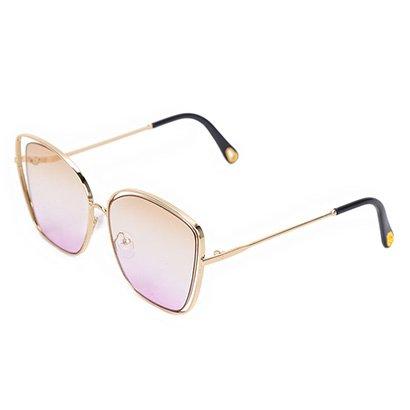 Óculos Polo London Club Geométrico Degradê Feminino