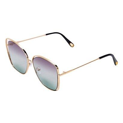 Óculos Polo London Club Quadrado Espelhado Feminino