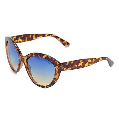 Óculos Polo London Club Tartaruga Degradê Feminino