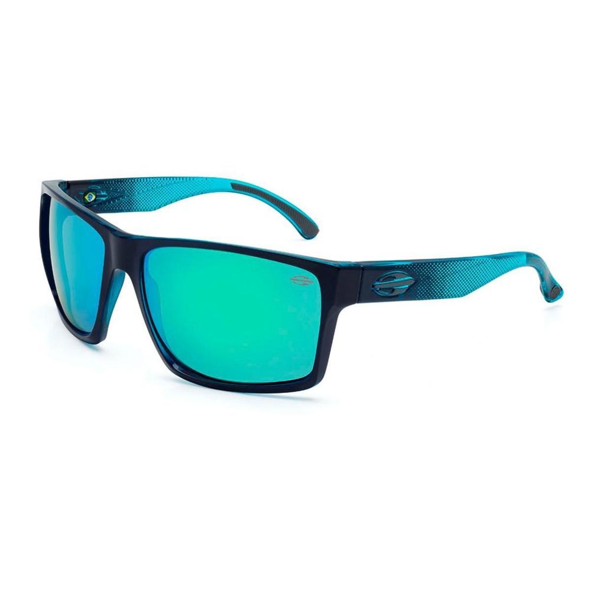 30e9f56510b4d Óculos Sol Mormaii Carmel - Preto e Azul - Compre Agora