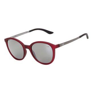 Óculos Sol Mormaii Deli Burgundy Fosco/L Cinza Fl Prata