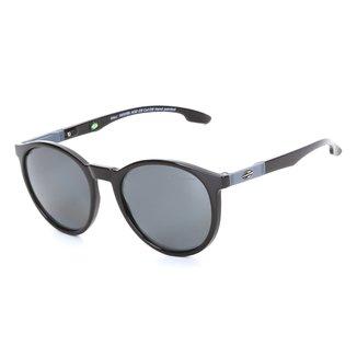 Óculos Sol Mormaii Maui Preto Brilho Lente Cinza