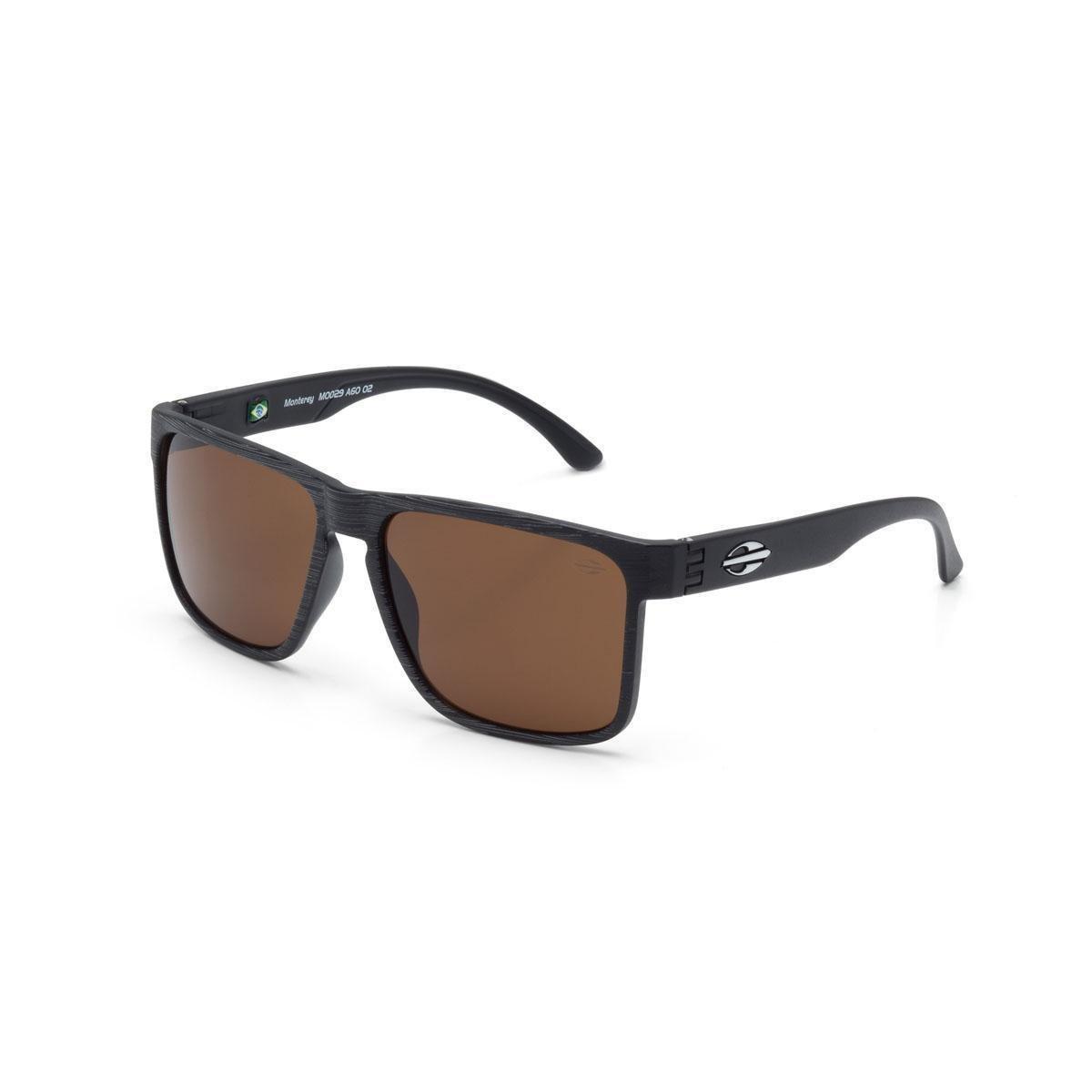 Oculos Sol Mormaii Monterey - Preto e Marrom - Compre Agora   Zattini e5b5ccf0e4