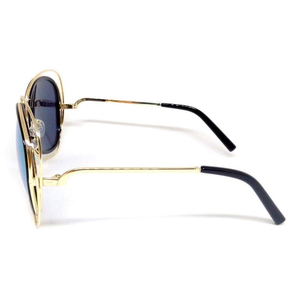 Óculos Solar Cayo Blanco Redondo - Compre Agora   Zattini 682883ea7f
