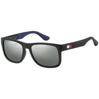 Óculos Tommy Hilfiger 1556/S Preto/Azul