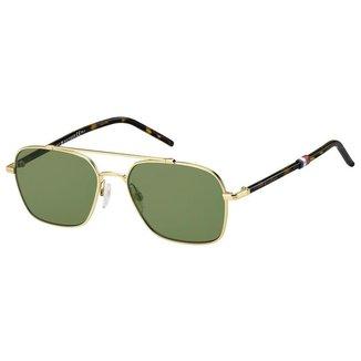 Óculos Tommy Hilfiger 1671/S Dourado/Marrom