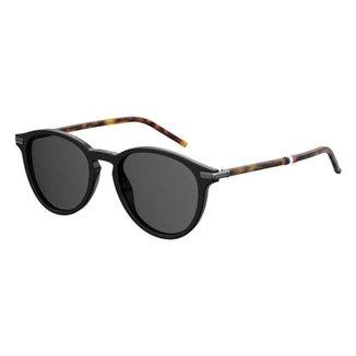 Óculos Tommy Hilfiger 1673/S Preto/Marrom