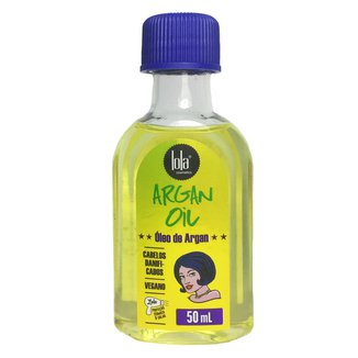 Óleo Capilar Lola Cosmetics Argan Oil 50ml