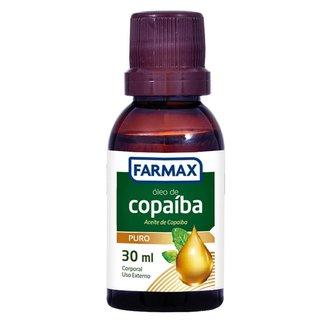 Óleo Corporal Farmax Copaíba 30ml