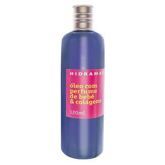 Óleo Corporal Hidramais - Perfume de Bebê 120ml