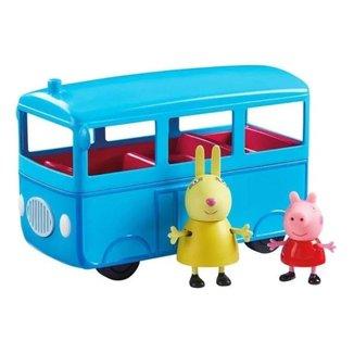 Ônibus Escolar Com Som Peppa e Coelha 5 Lugares Sunny 2305