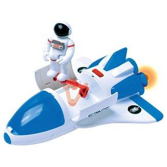 Ônibus Espacial de Brinquedo Astronautas Exploradores do Espaço com Acessórios