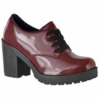Oxford D&R Shoes Verniz Tratorada Feminina