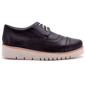 Oxford Top Franca Shoes Casual Feminino