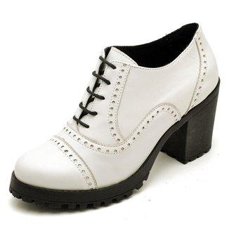 Oxford Top Franca Shoes Confort Feminino
