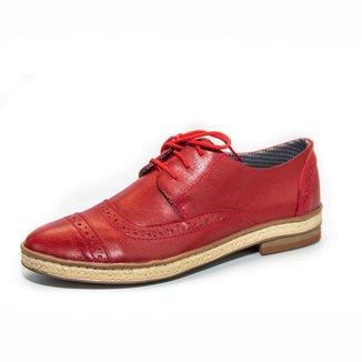 Oxford Top Franca Shoes Feminino