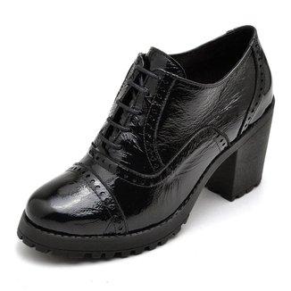 Oxford Top Franca Shoes Verniz Feminino