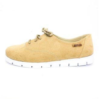 Oxford Tratorado Quality Shoes Camurça  Feminino