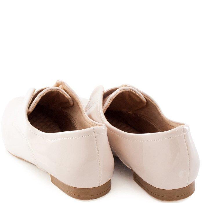 5c31a08ca Oxford Verniz Numeração Especial Sapato Show - Creme - Compre Agora ...