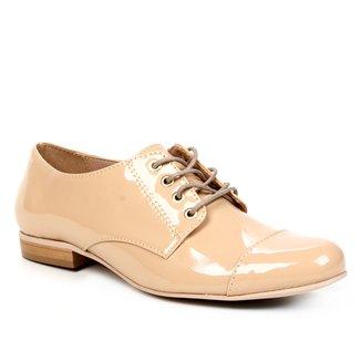 Oxfords Shoestock Verniz Feminino