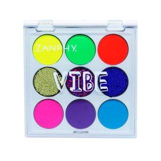 Paleta de Sombras Neon Zanphy Vibe 1Un
