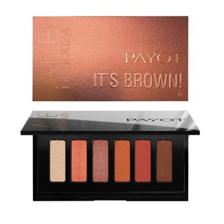 Paleta de Sombras Payot by Ale de Souza – IT'S BROWN! 1Un
