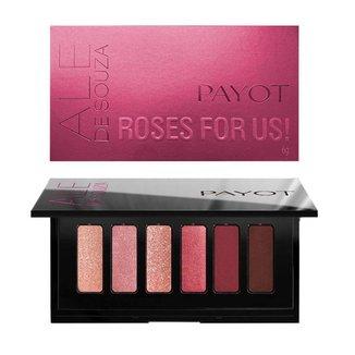 Paleta de Sombras Payot por Ale de Souza – ROSES FOR US! 1Un