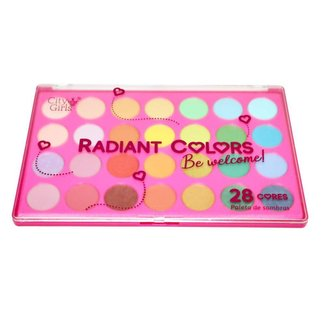 Paleta de Sombras Radiant Colors City Girls Único