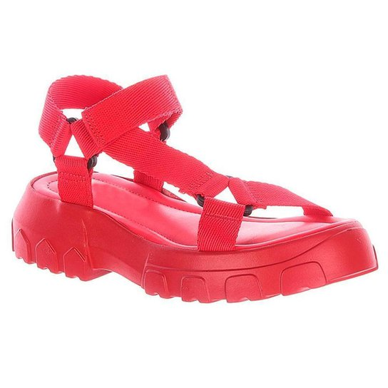 Papete Hope Damannu Shoes Feminino - Vermelho
