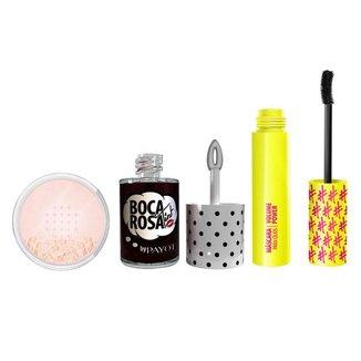 Payot  Kit - Lip Tint  Boca Rosa + Pó Facial + Máscara para Cílios Boca Rosa Kit